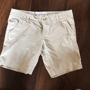 Mid length Bermuda shorts